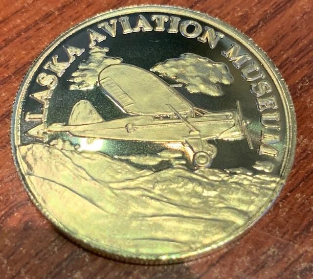 1944 Stinson Gullwing Bronze Coin