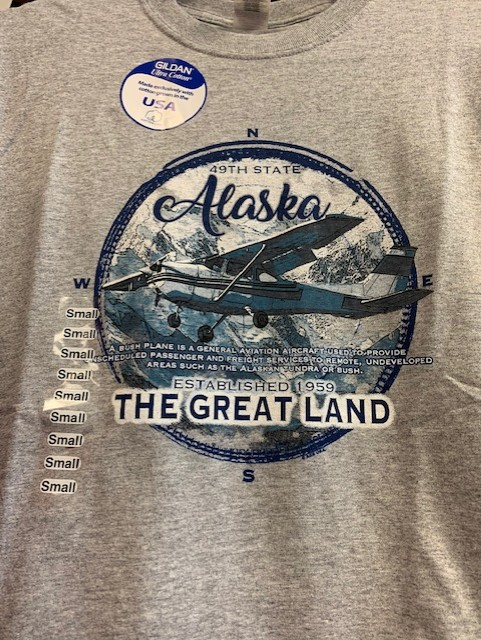 Alaska Aviator Great Land Tee Shirt