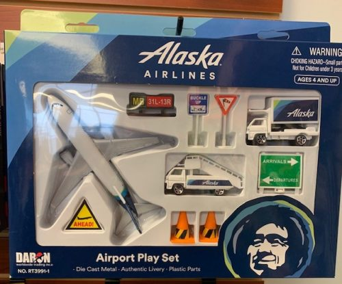 Alaska Airlines Kids Play Set