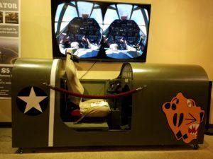 Aleutian Tiger P-40 Virtual Reality Simulator